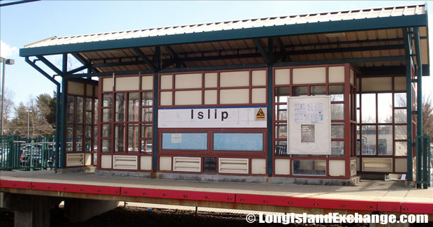 The Islip Train Station