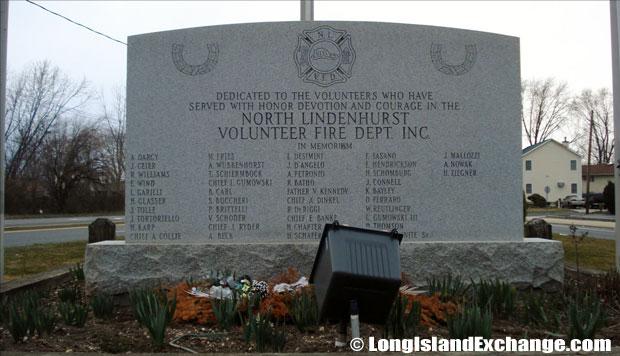 North Lindenhurst Fire Department Memorial