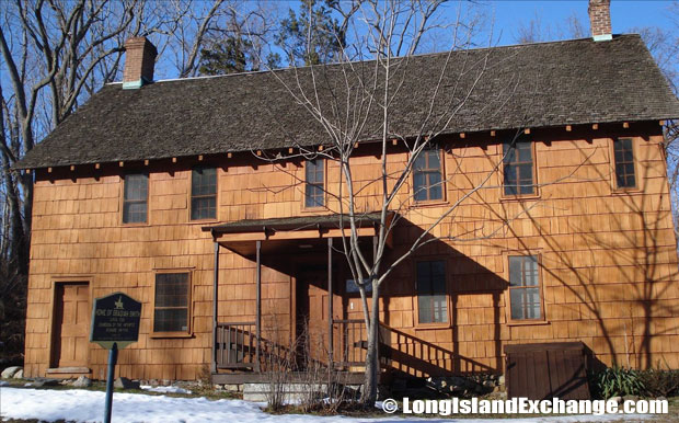 Obadiah Smith House is a historic home located in San Remo, New York. It was built about 1708 and is operated as a house museum by the Smithtown Historical Society