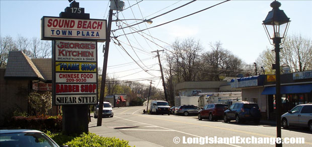 Sound Beach is a hamlet and census-designated place located in Suffolk County, Long Island, New York. It is within the Town of Brookhaven. The county seat is Riverhead. The neighborhood has a total area of 2.7 square miles, all land.