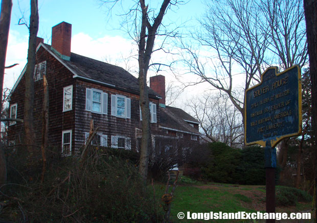 "Built in 1819 by Walt Whitman, Sr., and and located at 26 Mt. Misery Road, is the ""Coyler House""."