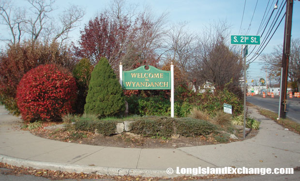 Wyandanch Welcome Sign