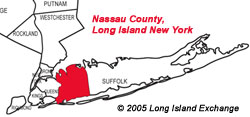 Nassau County Map