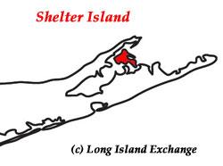 Shelter Island Map