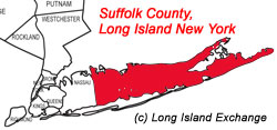 Suffolk County Map