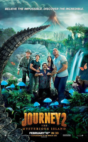 At The Movies: Journey 2: The Mysterious Island (2012)