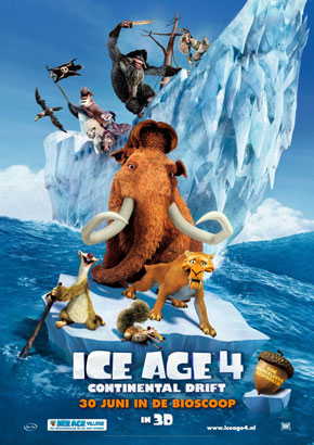 At The Movies: Ice Age 4: Continental Drift (2012)