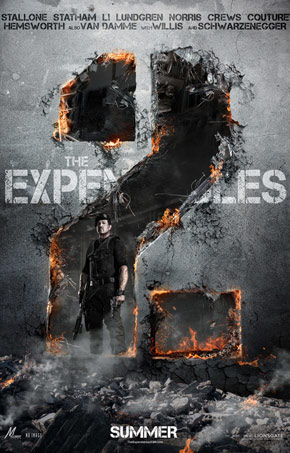At The Movies: The Expendables 2 (2012)