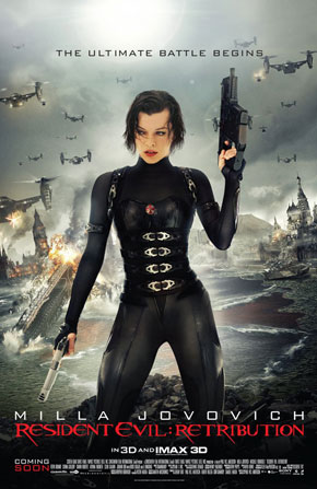 At The Movies: Resident Evil: Retribution (2012)