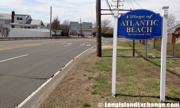 Atlantic Beach Welcome Sign