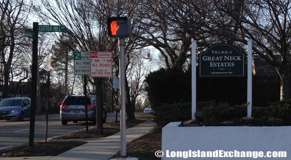 Great Neck Estates Sign