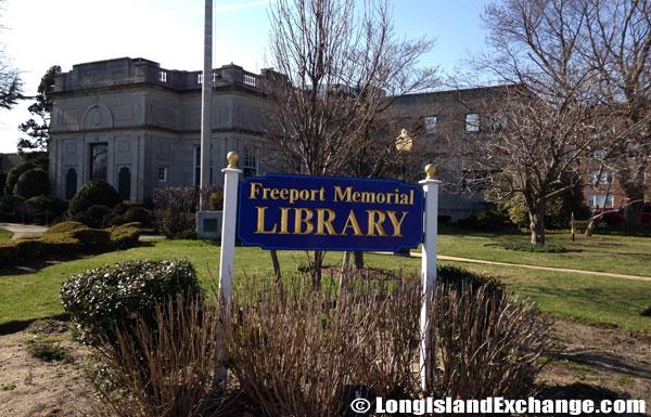 Freeport Memorial Library 1884