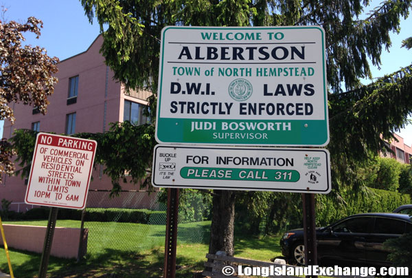 Albertson DWI Sign