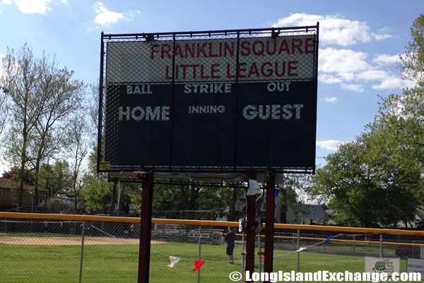 Franklin Square Little League Scoreboard