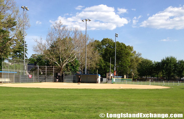 H Frank Carey High School Baseball Field