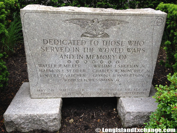 WW Memorial Stone