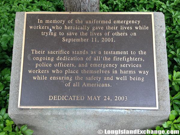 Memorial for September 11, 2001