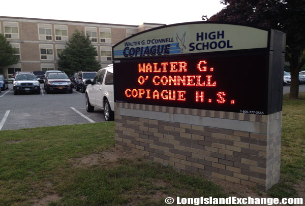 Walter G O'Connell Copiague High School