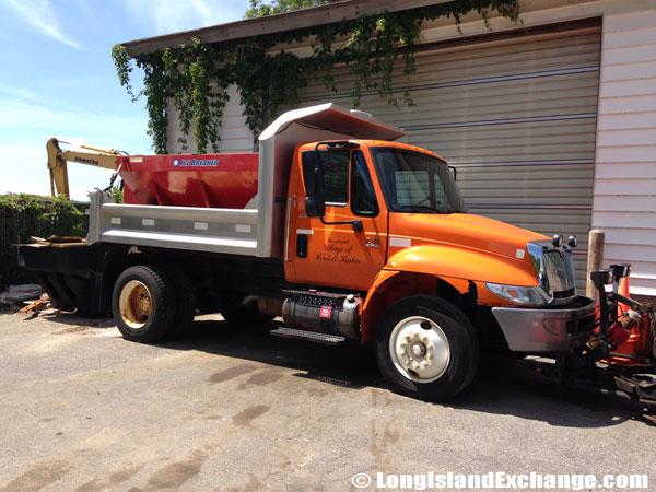 Hewlett Harbor Plow Truck
