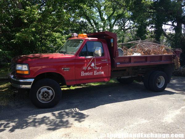 Village Debris Removal Truck