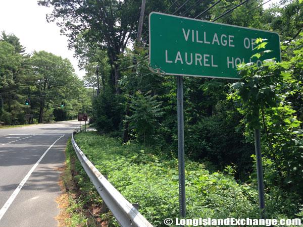 Laurel Hollow Sign