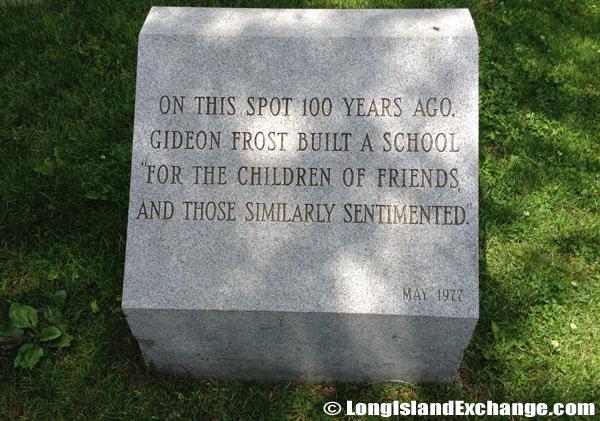 Gideon Frost Memorial Stone