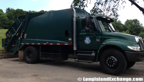 Mill Neck Garbage Collecting Truck