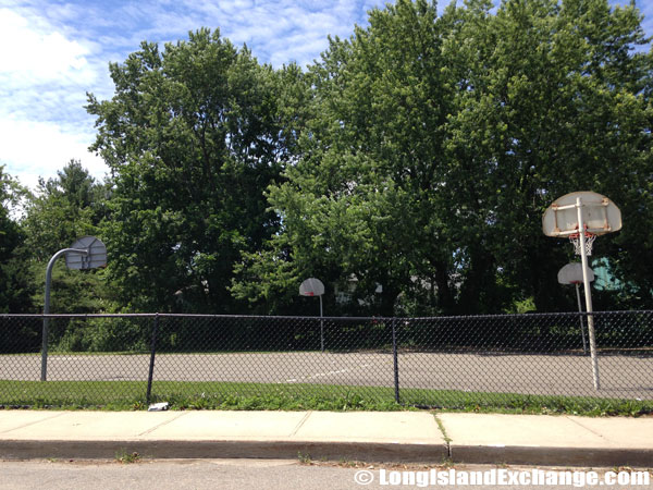 Searingtown School Basketball Courts