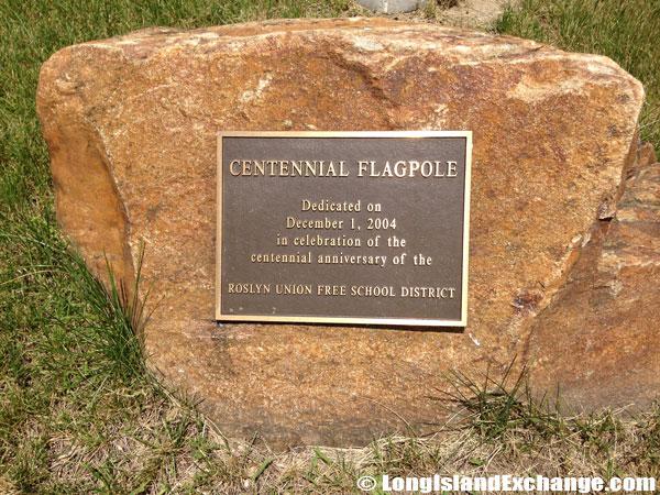 Flagpole Dedication Roslyn Schools Centennial
