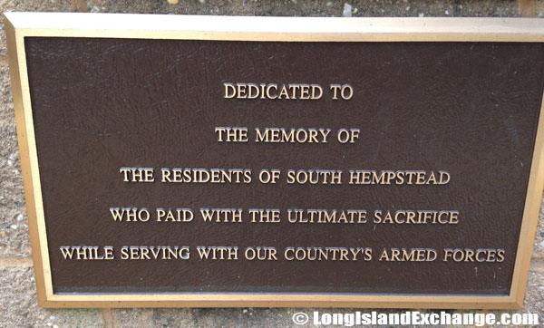 Memorial for South Hempstead Residents
