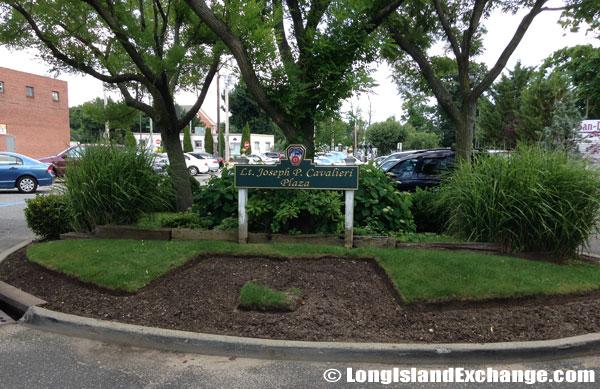 Joseph Cavalieri Plaza Sign
