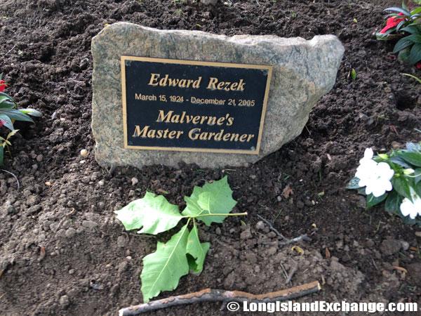 Edward Rezek Memorial Stone