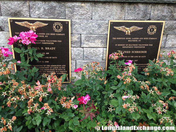 Two Memorial Plaques