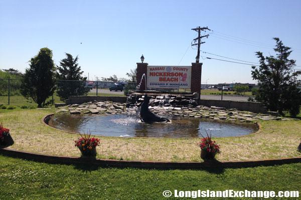 Nickerson Beach Park Fountain Summer