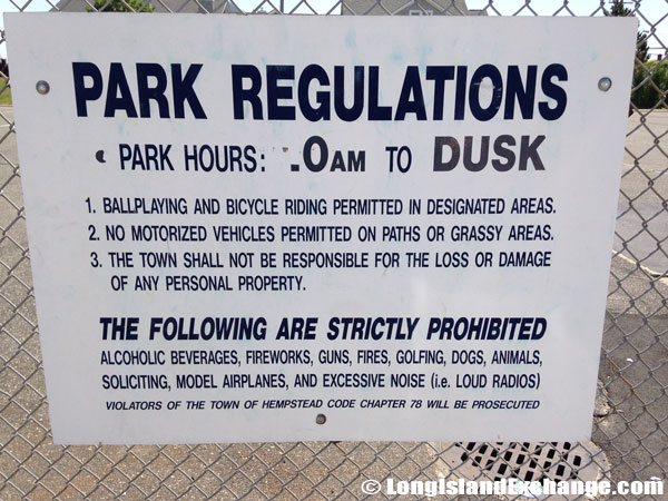 Park Rules and Regulations