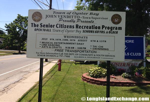 Glen Cove Senior Center Sign