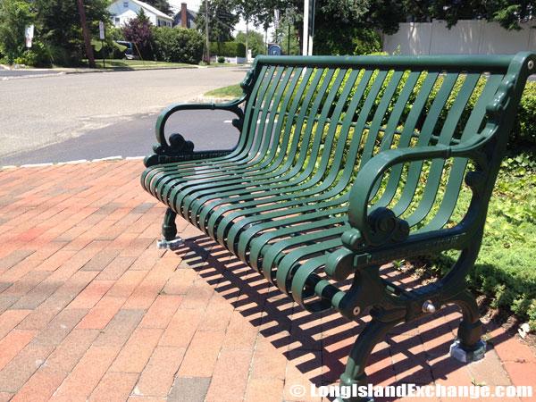Glen Head Park Bench