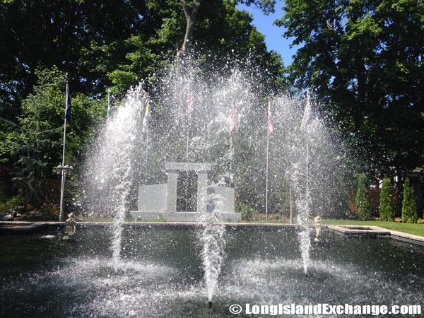 Garden of Heroes Fountains