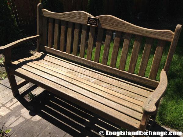 Garden of Heroes Memorial Bench