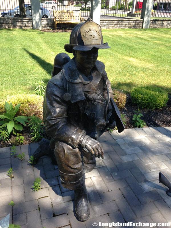 Firefighter Statue Memorial