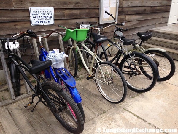 Post Office Bicycle Parking