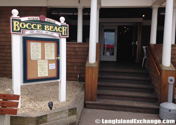 Bocce Beach Restaurant Bar