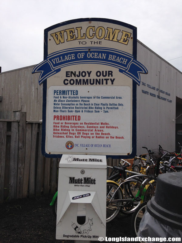 Welcome Sign Docks