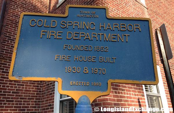 Fire Department Historical Marker
