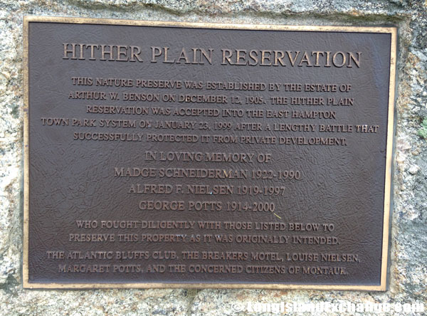 Hither Plain Reservation