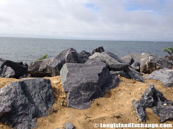 Montauk Harbor Rocks