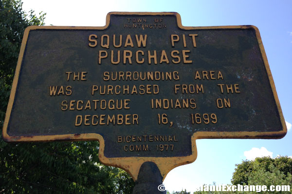 Squaw Pit Purchase Historical Marker