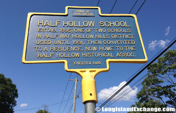 Half Way Hollow Hills District Historical Marker