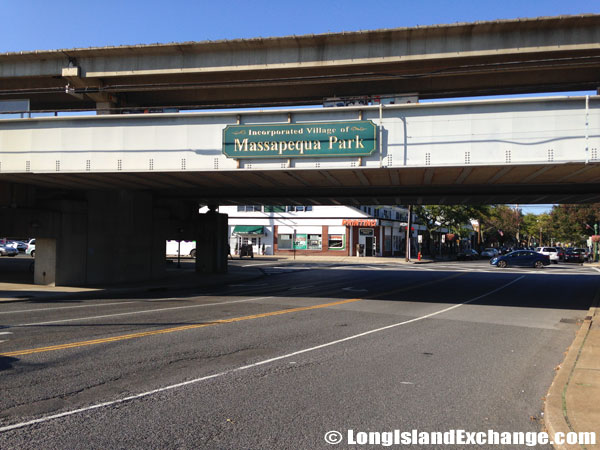 Train Overpass Massapequa Park