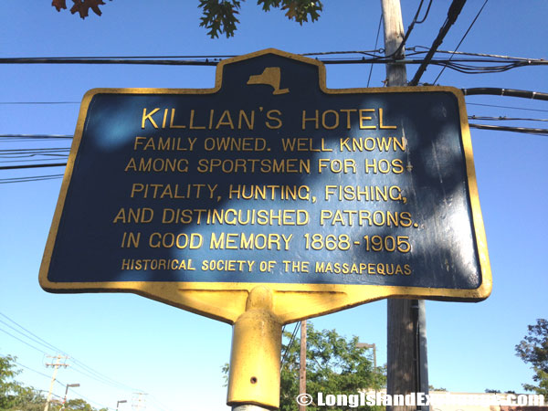 Historical Marker for Killian Hotel